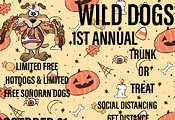 One stop wild dogs trunk or treat