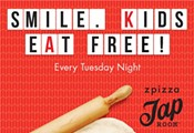 Smile! Kids eat free!