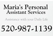 Maria's Personal Assistant Services