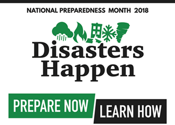 Stay Safe Out There: September is National Preparedness Month