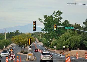 Sabino Canyon Road repaving project