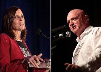McSally officially enters costly, high-profile race to keep Senate seat