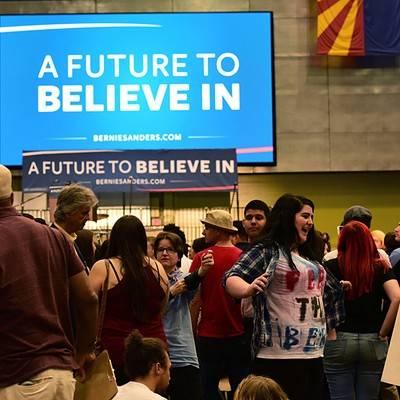A Future To Believe In: Bernie Sanders Visits Tucson
