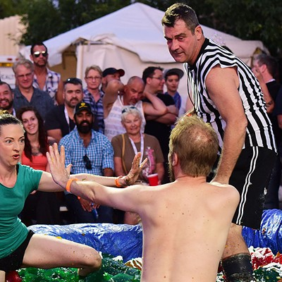 29th Jello Wrestling Benefit And Auction For SAAF