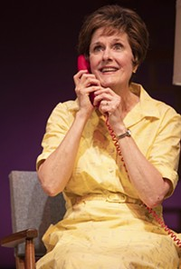 PHOTO BY TIM FULLER - Jeanne Paulsen in Arizona Theatre Company's Erma Bombeck: At Wit's End.