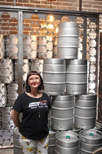 COURTESY - Crooked Tooth co-owner Julie Vernon had her business saved by local brewers.