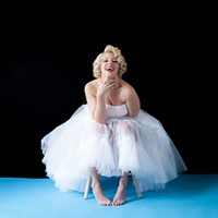 "COURTESY - ATC will present ""With Love, Marilyn,"" a one-woman show."