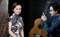 Jing Xia (guzheng) and Bin Hu (guitar) - Uploaded by garrwald