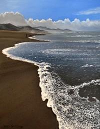 "COURTESY CONTRERAS GALLERY - ""Oregon Coast,"" painting by Neda Contreras, in Small Works at Contreras Gallery."
