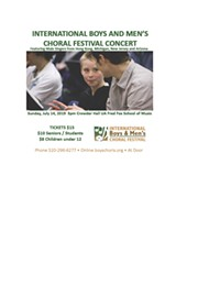 International Boys and Men's Choral Festival - Uploaded by rshaneboyd