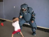 A 5 year old radKID escapes a simulated predator. - Uploaded by ssee