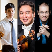 Naumburg Trio: David Requiro, Frank Huang and Gilles Vonsattel - Uploaded by james.reel