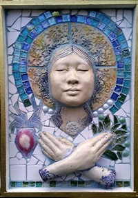 Goddess of Compassion - Uploaded by tucson clay co-op