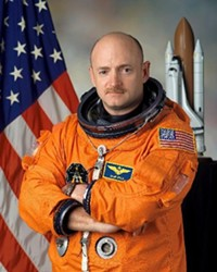 In the stratosphere: Mark Kelly has raised more than $31 million for his Senate campaign.
