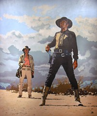 Billy Schenck - from Southwest Rising exhibition - at Tucson Museum of Art