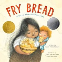 """""""Fry Bread- A Native American Family Story"""" book cover - Uploaded by Worlds of Words"""