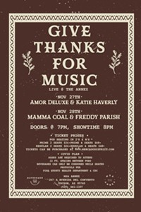 Give Thanks for Music at MSA Annex 11/27-28 - Uploaded by Carl Hanni