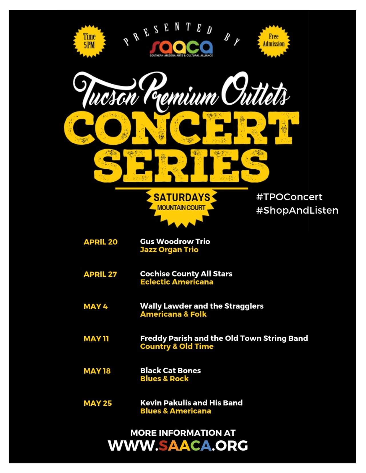 f7c6a7d06b9ac Tucson Premium Outlets Concert Series