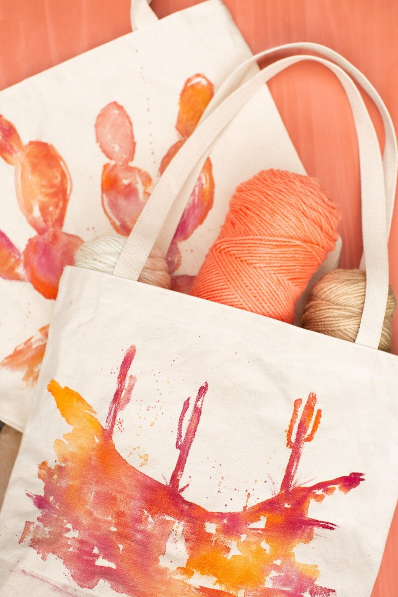 canvas tote customized with india ink workshop | creative